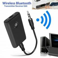 Блутут USB Аудио приемник - предавател 2 в 1, 3.5mm жак, за TV, Кола, Компютър