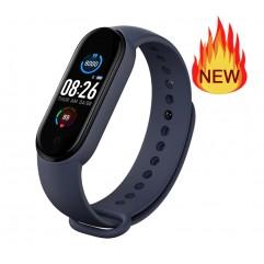 Смарт гривна Smart technology M5, Пулс, Кръвно налягане, Температура