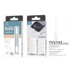 Преходник за iPhone Lightning към 3.5 мм Techancy TV3743