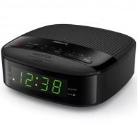 Радио с часовник Philips TAR3205, Черен