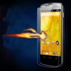 Удароустойчив скрийн протектор Tempered Glass за LG Nexus 4